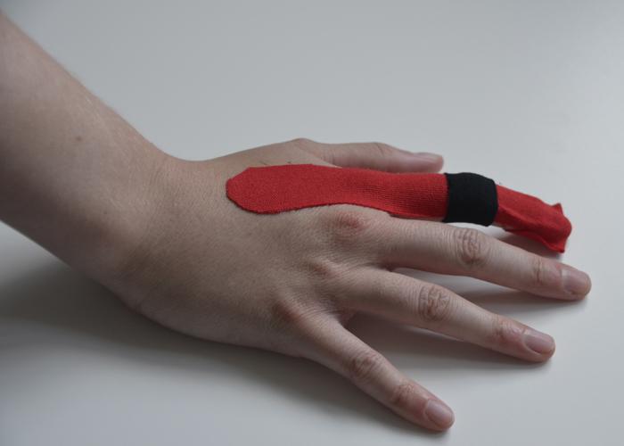 Finger tapen - Schritt 4